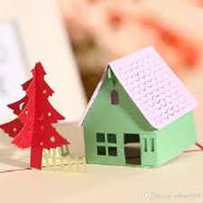 discount pop up cards houses 2017 pop up cards houses on sale at