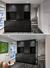 micro apartment design this micro apartment has a wall of hidden uses contemporist