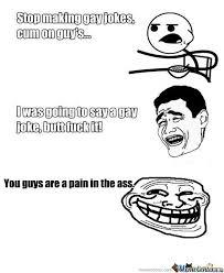Gay Jokes Meme - rmx gay jokes by hisayzme meme center