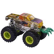wheels monster truck jam 64 wheels black stallion die cast truck battle slammer series