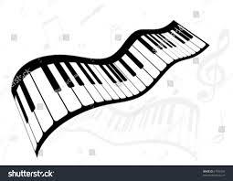 illustration piano music notes stock vector 57939103 shutterstock