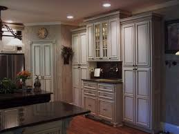 Kitchen Cabinet Glaze Painted And Glazed Kitchen Cabinets Traditional Kitchen
