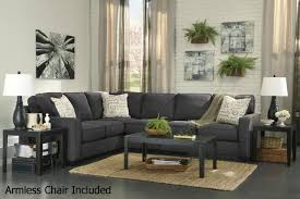 alenya grey fabric sectional sofa steal a sofa furniture outlet