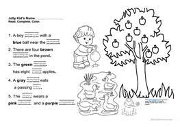 11 free esl jolly phonics worksheets