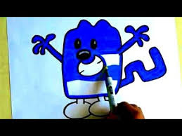 wow wow wubbzy coloring pages coloring blue wubbzy for kids