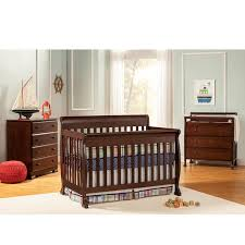 kalani 4 in 1 convertible crib with toddler rail kit and daybed