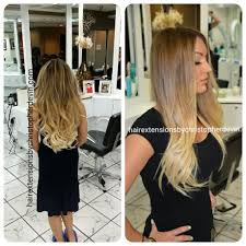 hair extensions dc this is an exle of our ombre balayage painted hair