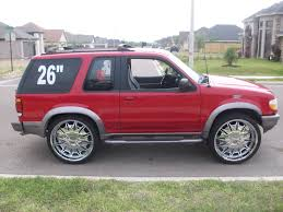 Ford Explorer Rims - tx8ball 1997 ford explorer sport specs photos modification info