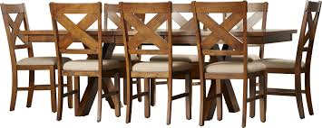 alcott hill warsaw 9 piece dining set u0026 reviews wayfair