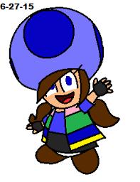 mario oc blue toad galaxygal 11 deviantart