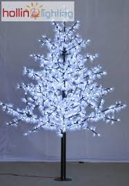 led tree white led christmas tree hl ct006 hollinlighting