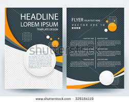 graphic design templates for flyers vector brochure flyer design layout template in a4 size download