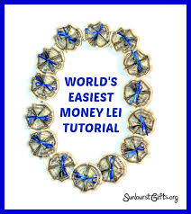 money leis say aloha to world s easiest money thoughtful gifts