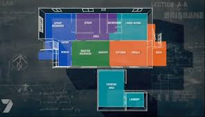 House Rules Floor Plan House Rules Amy And Sean U0027s House In Brisbane Queensland Real
