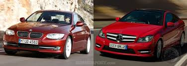 bmw 3 series or mercedes c class showdown 2011 bmw 3 series coupe vs 2012 mercedes c class