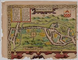 Old Map File Old Map Of Monmouth Wales Jpg Wikipedia
