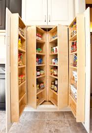 smart kitchen storage ideas for small spaces stylish eve u shaped brown ebony wood walk walk in closet in a small room brown