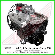 lead foot performance new modified chevy 350 engine rated at