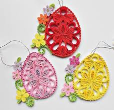 egg ornament quilled easter egg quilled egg ornament house