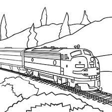 machinist locomotive train coloring color luna