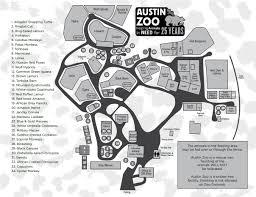 Map Of Austin Texas by Austin Zoo Map Map Of Austin Zoo Texas Usa