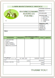 landscaping invoice template   landscaping invoice templates  with do you want landscaping invoice templates or lawn care invoice templates  designed in a professional way check our free templates from pinterestcom