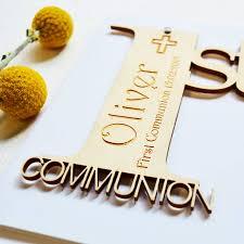 Holy Communion Invitation Cards Personalised First Holy Communion Card By Hickory Dickory Designs