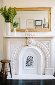 picture above fireplace binhminh decoration