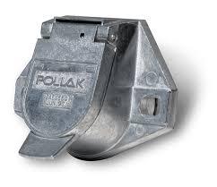 pollak 11 720 trailer connector 7 way socket