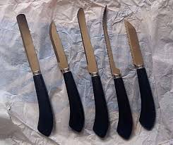 ginsu 25 piece knife set vintage