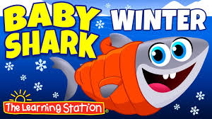 baby shark youtube learning station baby shark song animal songs winter songs action dance