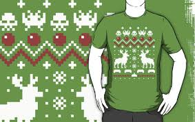 space invaders edition sweater t shirts