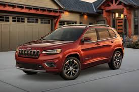 red jeep cherokee new 2019 jeep cherokee mid size suv