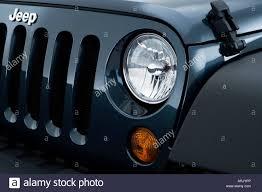 jeep wrangler blue headlights 2008 jeep wrangler x in blue headlight stock photo royalty free