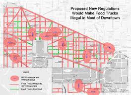 Washington Dc Ward Map by Food Truck Association Battles Dc Mobile Vending Rules