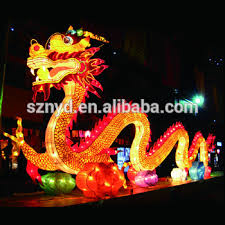 New Year Decoration Product sale giant decorative lighted dragon lantern chinese new year