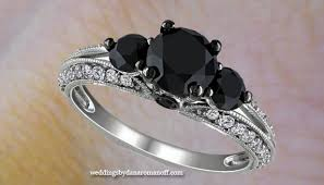 Black Diamond Wedding Rings by Vintage Black Diamond Engagement Rings Where To Go To Found The