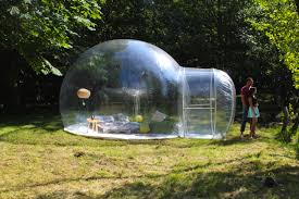 gallery bubble tent