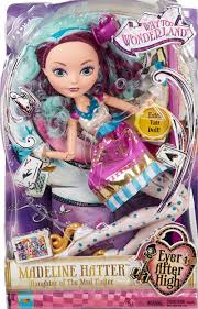 ever after high madeline hatter large scale doll shop ever