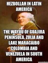 Colombia Meme - in latin america the wayuu of guajira peninsula zulia and lake