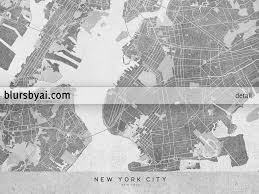 Map Of New York City Printable by Printable Map Of New York City In Black And White Vintage Style