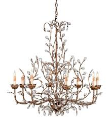currey u0026 company 9884 bud 8 light chandelier with