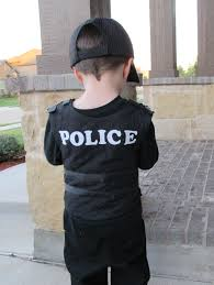 police halloween costume kids diy police officer child costumes and dress ups pinterest