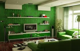 Green Living Room That Bringing Nature Right Into Your Home - Green color for living room