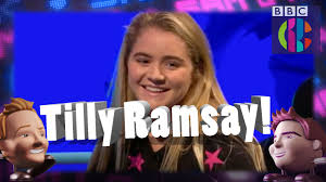 tilly black friday guess what tilly ramsay did cbbc youtube