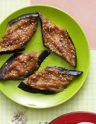 cuisine des aubergines aubergines au miso pour 6 personnes recettes à table