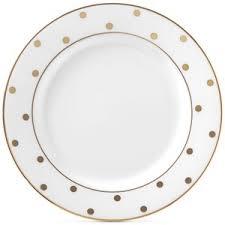 kate spade new york larabee road gold bone china butter plate
