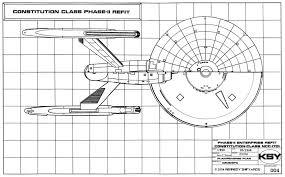 star trek enterprise floor plans star trek blueprints starship u s s enterprise ncc 1701 phase ii