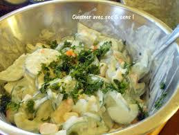 cuisiner concombre salade fraîcheur au concombre et surimi cuisiner avec ses 5 sens