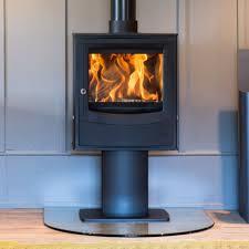 Pedestal Wood Burning Stoves World Of Iron Durham